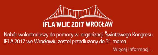 Przedłużony nabór wolontariuszy IFLA2017