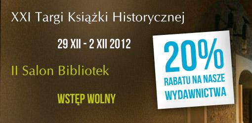 XXI Targ Książki Historycznej