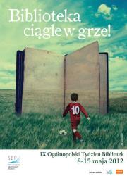 Tydzień bibliotek - plakat polski