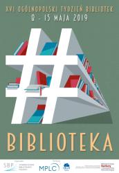 Plakat Tygodnia Bibliotek 2019 Stowarzyszenie