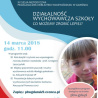Działalność wychowawcza szkoły. Co możemy zrobić lepiej? - XV sesja metodyczna PBW w Gdańsku, 14 marca 2018 r.