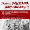 77. rocznica Powstania Warszawskiego w Lesznie