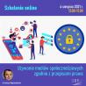 Używanie mediów społecznościowych zgodnie z przepisami prawa | szkolenie online